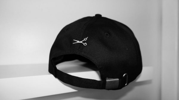 Back of the HAIRJORDAN cap
